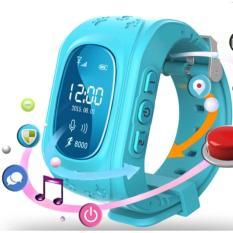 Đồng hồ định vị trẻ em GPS - Smart Watch Happy Kids (Xanh dương)