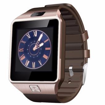 Đồng hồ thông minh Cawono DZ09(Nâu sậm)
