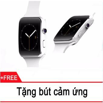Đồng hồ thông minh Cawono X6 Màn hình Cong (Trắng) + Tặng 1 bút cảm ứng