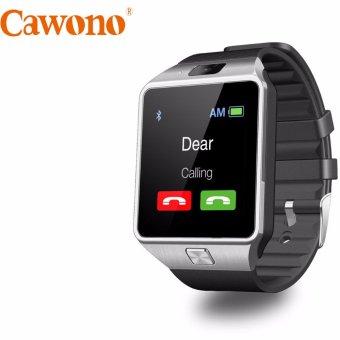 Đồng hồ thông minh Cawono Z09 2017 (Đen bạc)