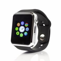Đồng hồ Thông minh Smart Watch A1 Version cải tiến (Viền Đen Dây Đen)