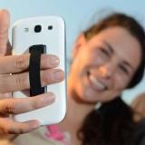 Dây thun co giãn bị dính vào điện thoại di động & dây đeo Cảm Ứng Giá Đỡ Nhẫn tay cầm thiết bị sling cầm thông minh cho iphone- quốc tế