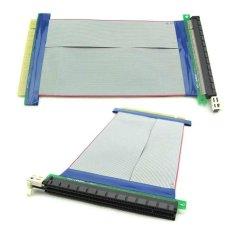 Mua Express 16X to 16X Riser Card Extender Adapter Extension Flexible Cable PCI-E – intl  Tại burstore