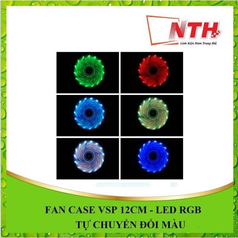 Bảng giá FAN CASE VSP 12CM - LED RGB + 4 ỐC Phong Vũ