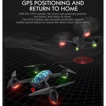 Flycam TRACKER JD518 trang bị  gps, camera hd trực tiếp về điện thoại, tự động bay