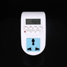 Free Shipping AL-06 Programmable Timer Switch Socket Digital LCD Display EU Plug Compact - intl