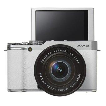 Fujifilm X-A2 16.3MP và lens kit Fujinon 16-50mm F/3.5-5.6 (Trắng)