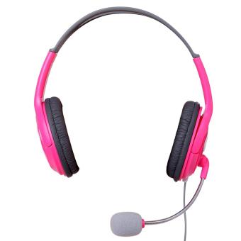Gaming Headset Headphones Microphone(RoseRed) - intl