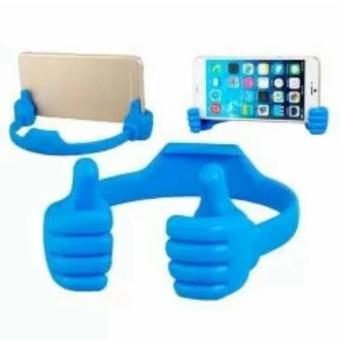 Giá đỡ điện thoại hình cánh tay hongkong PGH-250 (Xanh dương)