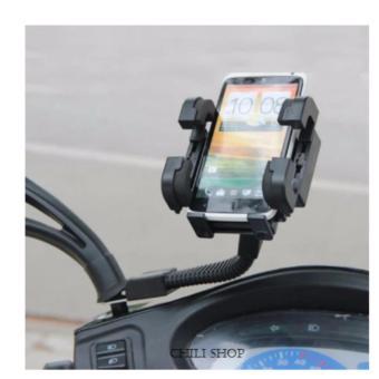 Giá đỡ, kẹp, dụng cụ giữ điện thoại trên xe máy làm camera hànhtrình