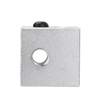 Heater Block For Reprap Makerbot 3D Printer MK8 Extruder HotEndScrew hole M3,M6 - intl
