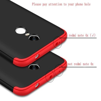 ... Hicase 360 Degree Full Body Protective 3in1 Ultra-thin PC BackCover Case for Xiaomimi Note