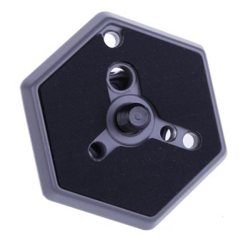 HKS Hexagonal Quick Release Plate 3/8 Screw for Manfrotto 3049 030-38 RC0 3039 - intl