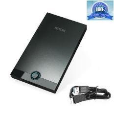 Nơi bán Hộp đựng ổ cứng HDD Box 3.0 SSK SHE085 2.5inch (Đen) uy tín
