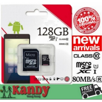 Hot Sell 128GB Micro SD Card 128GB MicroSDXC Memory Card Class 10Mini SD Card MicroSDHC TF Card 128GB for Smartphone - intl