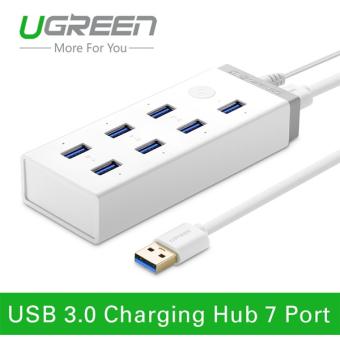 Hub 7 cổng USB 3.0 kèm sạc điện thoại, máy tính bảng Ugreen UG -20296