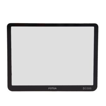 FOTGA Optical Glass Rigid LCD Protector for Nikon D3300 DSLR Camera - Intl