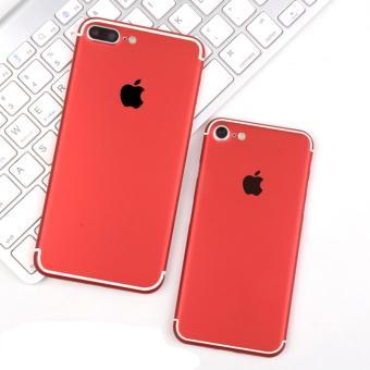 Bộ Miếng dán Skin màu đỏ cho iPhone 7 Plus 128GB (Đỏ)