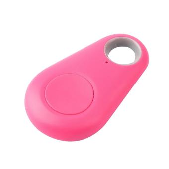 OH Fashion Bluetooth 4.0 Tracer GPS Locator Tag Alarm Wallet Key Pet Dog Tracker pink - intl