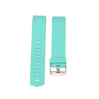 Replacement Soft Silicone Watchband For Fitbit Charge 2 (Green) - intl