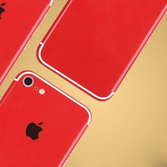 Miếng dán lưng đỏ cho điện thoại iPhone 7 128GB (Đỏ)