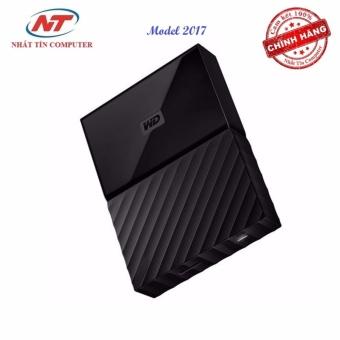 Ổ cứng di động HDD Western Digital My Passport 4TB - Model 2017 (Đen)
