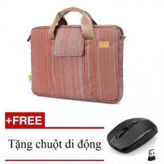 Túi đựng máy tính xách tay TEE 13inch (đỏ) + Tặng chuột di động