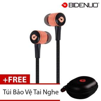 Tai Nghe Bidenuo G800 Classical (Vàng) + Tặng 1 Túi Bảo Vệ Tai Nghe