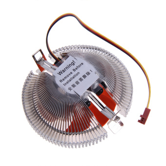 PC CPU Cooler Cooling Fan Heatsink for Intel LGA775 1155 AMD AM2 AM3 .