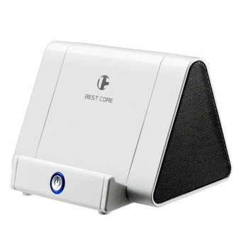Loa cảm ứng và khuếch đại âm thanh Best Core KS-LOA-BC00002 (Trắng)