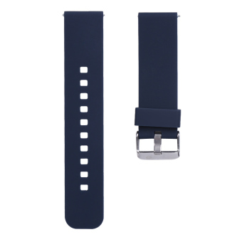 22mm Sports Silicone Watch Strap for Samsung Galaxy Gear S3 Classic (Blue) - intl