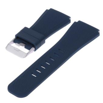 Sports Silicone Bracelet Strap Band For Samsung Gear S3 Watch (Blue) - intl