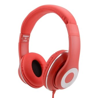 Kanen IP-980 Adjustable Wired Headset (Red) - intl