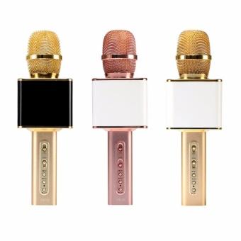 (Khuyến Mãi)_Micro Karaoke Kiêm Loa Bluetooth YS-10 (Vàng)