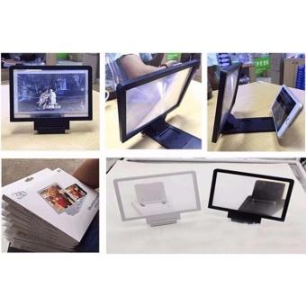 Kính 3D phóng đại màn hình điện thoại có giá đỡ đa năng (Màu ngẫunhiên)