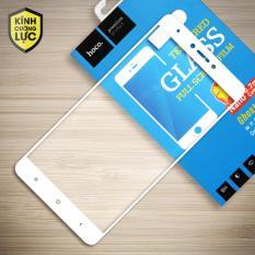 Kính cường lực cho Xiaomi Redmi Note 4X Full LCD hiệu Hoco (Trắng)