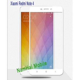 Kính cường lực Full màn Glass cho Redmi Note 4