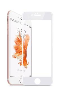 Kính cường lực Full màn hình cho iPhone 6S (Trắng)