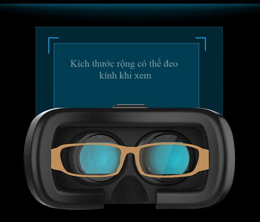 Hình ảnh Kính thực tế ảo VR Box phiên bản 2 (Trắng đen) và Cáp OTG
