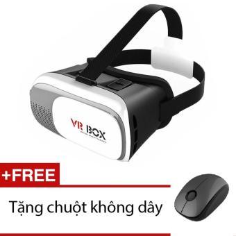 Kính thực tế ảo VR Box thế hệ thứ 2 tặng kèm chuột không dây tiện dụng