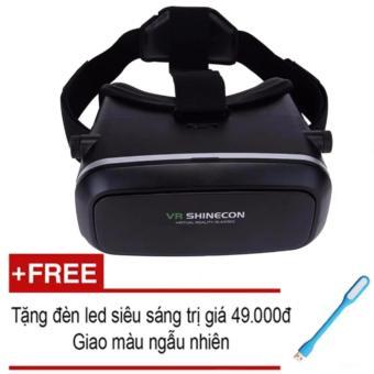 Kính thực tế ảo VR Shinecon + tặng kèm đèn led siêu sáng