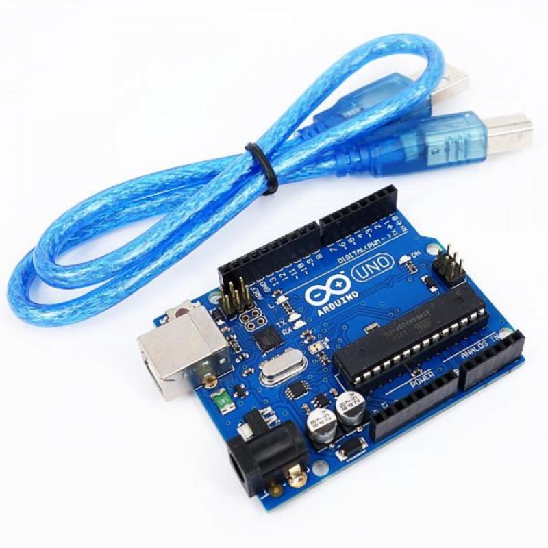 Bảng giá Kit Arduino Uno R3 - Chíp ATmega328P-Cắm ( Tặng 01 Dây Kết Nối ) Phong Vũ