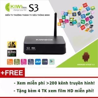 Kiwi Box S3 Plus Ram 2G cấu hình cực khủng - Xem 3D & 4K cực chất! - 8221216 , KI053ELAA39K38VNAMZ-5722916 , 224_KI053ELAA39K38VNAMZ-5722916 , 1689000 , Kiwi-Box-S3-Plus-Ram-2G-cau-hinh-cuc-khung-Xem-3D-4K-cuc-chat-224_KI053ELAA39K38VNAMZ-5722916 , lazada.vn , Kiwi Box S3 Plus Ram 2G cấu hình cực khủng - Xem 3D & 4K cực ch
