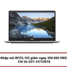 Laptop DELL Inspiron 7570 782P81 Core i7-8550U Ram 8GB 15.6″ Win 10 (Bạc)- Hãng phân phối chính thức