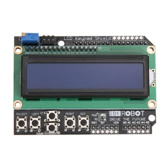 LCD 1602 Display Keypad Shield Module for Arduino Expansion Board -intl