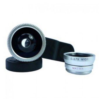 Lens chụp ảnh 3 trong 1 cho điện thoại shopping