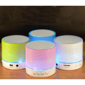 Loa Bluetooth Chơi Nhạc Kèm Đèn Led Nhiều Màu Sắc Đẹp Mắt