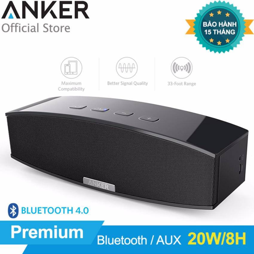 Hình ảnh Loa bluetooth di động ANKER Premium Stereo Bluetooth 4.0 20W (Đen) - Hãng phân phối chính thức