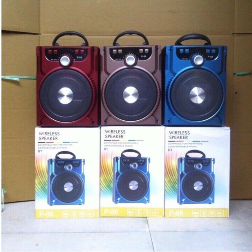 Loa bluetooth hát karaoke P88 P89 - Tặng kèm micro