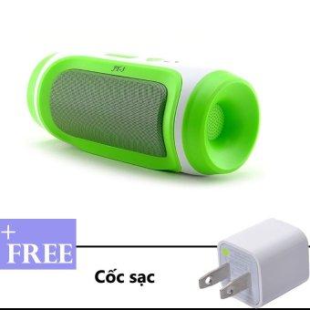 Loa Bluetooth mini JY-3 (Xanh lá) + Tặng kèm cốc sạc